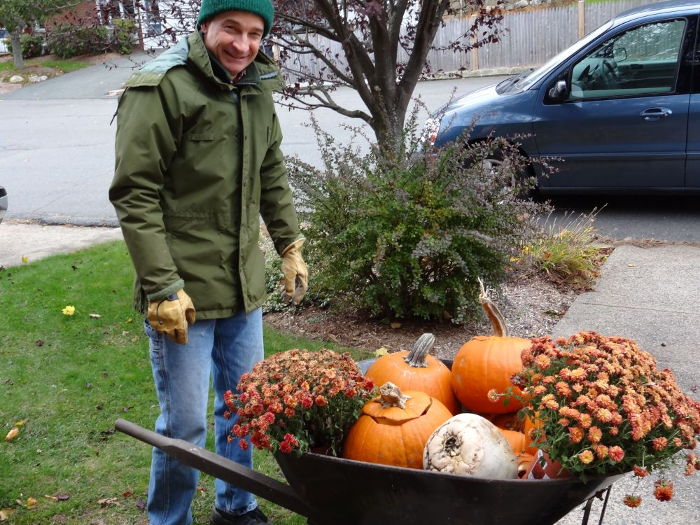 What We Do With (Old) Pumpkins (2/6)