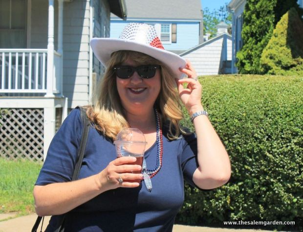 my friend Jane having a great time!